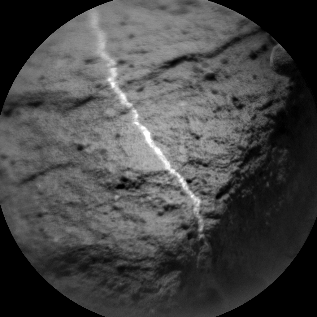 Nasa's Mars rover Curiosity acquired this image using its Chemistry & Camera (ChemCam) on Sol 1030, at drive 1570, site number 48