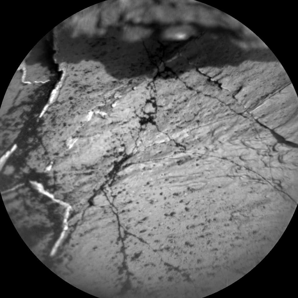 Nasa's Mars rover Curiosity acquired this image using its Chemistry & Camera (ChemCam) on Sol 1031, at drive 1600, site number 48