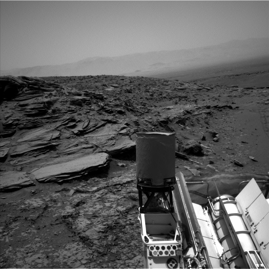 Nasa's Mars rover Curiosity acquired this image using its Left Navigation Camera on Sol 1032, at drive 1600, site number 48