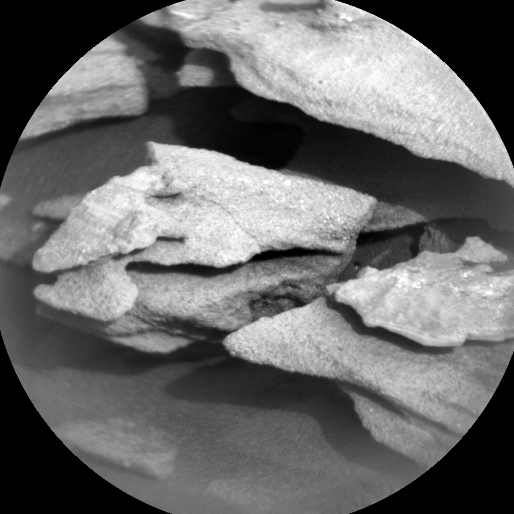 Nasa's Mars rover Curiosity acquired this image using its Chemistry & Camera (ChemCam) on Sol 1032, at drive 1600, site number 48