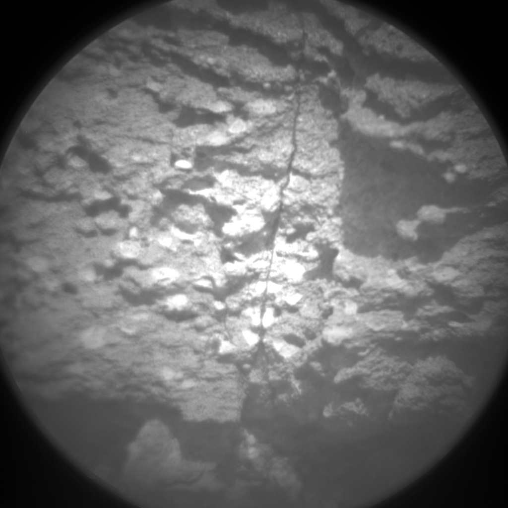 Nasa's Mars rover Curiosity acquired this image using its Chemistry & Camera (ChemCam) on Sol 1033, at drive 1600, site number 48