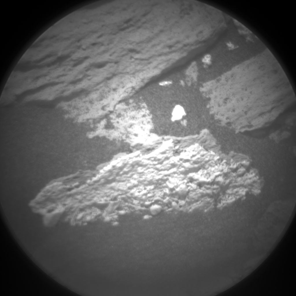 Nasa's Mars rover Curiosity acquired this image using its Chemistry & Camera (ChemCam) on Sol 1034, at drive 1600, site number 48