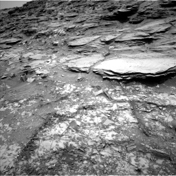 Nasa's Mars rover Curiosity acquired this image using its Left Navigation Camera on Sol 1035, at drive 1642, site number 48