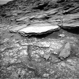 Nasa's Mars rover Curiosity acquired this image using its Left Navigation Camera on Sol 1035, at drive 1648, site number 48