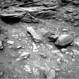 NASA's Mars rover Curiosity acquired this image using its Left Navigation Camera (Navcams) on Sol 1035