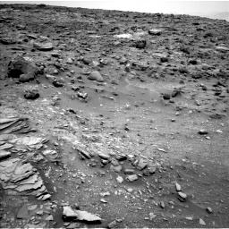Nasa's Mars rover Curiosity acquired this image using its Left Navigation Camera on Sol 1035, at drive 1762, site number 48