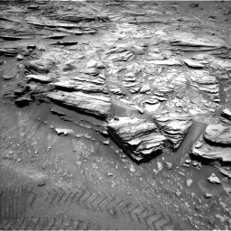 Nasa's Mars rover Curiosity acquired this image using its Left Navigation Camera on Sol 1035, at drive 1768, site number 48