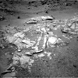 Nasa's Mars rover Curiosity acquired this image using its Left Navigation Camera on Sol 1035, at drive 1810, site number 48