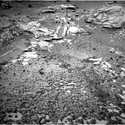 Nasa's Mars rover Curiosity acquired this image using its Left Navigation Camera on Sol 1035, at drive 1822, site number 48