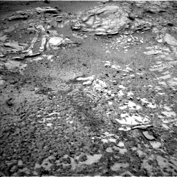 Nasa's Mars rover Curiosity acquired this image using its Left Navigation Camera on Sol 1035, at drive 1834, site number 48