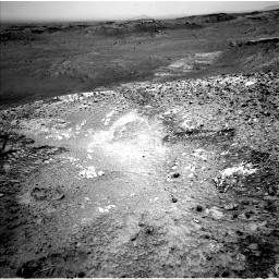 Nasa's Mars rover Curiosity acquired this image using its Left Navigation Camera on Sol 1035, at drive 1882, site number 48