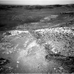 Nasa's Mars rover Curiosity acquired this image using its Left Navigation Camera on Sol 1035, at drive 1894, site number 48