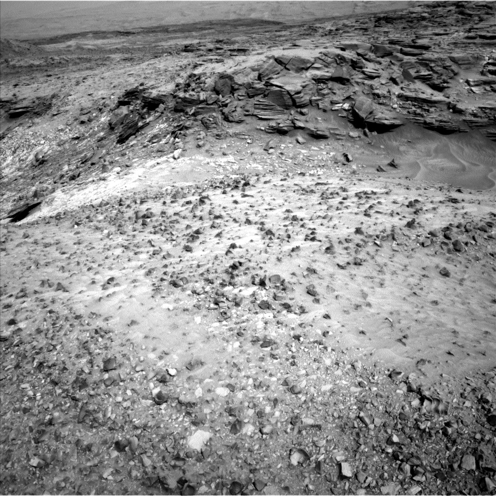 Nasa's Mars rover Curiosity acquired this image using its Left Navigation Camera on Sol 1035, at drive 1906, site number 48