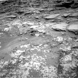 Nasa's Mars rover Curiosity acquired this image using its Right Navigation Camera on Sol 1035, at drive 1630, site number 48