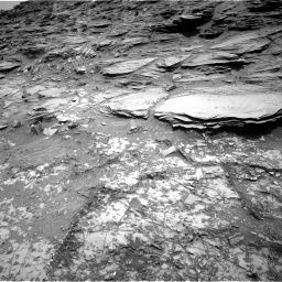 Nasa's Mars rover Curiosity acquired this image using its Right Navigation Camera on Sol 1035, at drive 1636, site number 48