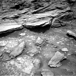 Nasa's Mars rover Curiosity acquired this image using its Right Navigation Camera on Sol 1035, at drive 1654, site number 48