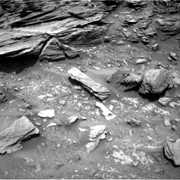 Nasa's Mars rover Curiosity acquired this image using its Right Navigation Camera on Sol 1035, at drive 1666, site number 48