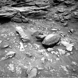 Nasa's Mars rover Curiosity acquired this image using its Right Navigation Camera on Sol 1035, at drive 1690, site number 48