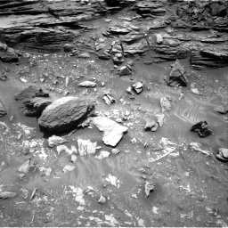 Nasa's Mars rover Curiosity acquired this image using its Right Navigation Camera on Sol 1035, at drive 1696, site number 48