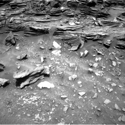 Nasa's Mars rover Curiosity acquired this image using its Right Navigation Camera on Sol 1035, at drive 1714, site number 48
