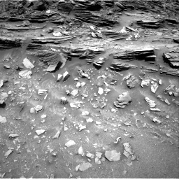 Nasa's Mars rover Curiosity acquired this image using its Right Navigation Camera on Sol 1035, at drive 1720, site number 48