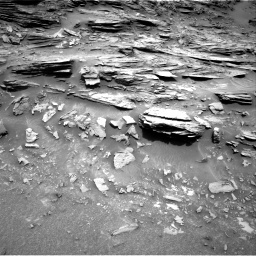 Nasa's Mars rover Curiosity acquired this image using its Right Navigation Camera on Sol 1035, at drive 1732, site number 48