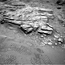 Nasa's Mars rover Curiosity acquired this image using its Right Navigation Camera on Sol 1035, at drive 1774, site number 48