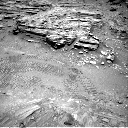 Nasa's Mars rover Curiosity acquired this image using its Right Navigation Camera on Sol 1035, at drive 1780, site number 48