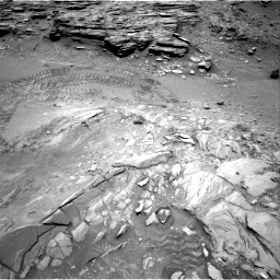 Nasa's Mars rover Curiosity acquired this image using its Right Navigation Camera on Sol 1035, at drive 1792, site number 48