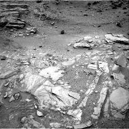 Nasa's Mars rover Curiosity acquired this image using its Right Navigation Camera on Sol 1035, at drive 1798, site number 48