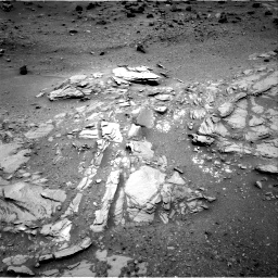 Nasa's Mars rover Curiosity acquired this image using its Right Navigation Camera on Sol 1035, at drive 1804, site number 48
