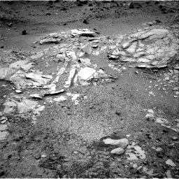 Nasa's Mars rover Curiosity acquired this image using its Right Navigation Camera on Sol 1035, at drive 1816, site number 48