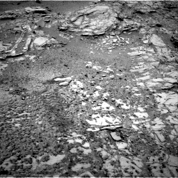 Nasa's Mars rover Curiosity acquired this image using its Right Navigation Camera on Sol 1035, at drive 1834, site number 48