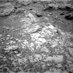 Nasa's Mars rover Curiosity acquired this image using its Right Navigation Camera on Sol 1035, at drive 1840, site number 48