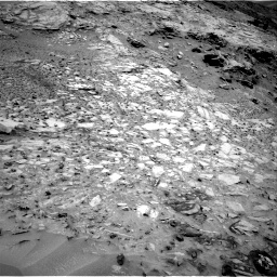 Nasa's Mars rover Curiosity acquired this image using its Right Navigation Camera on Sol 1035, at drive 1858, site number 48