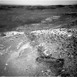 Nasa's Mars rover Curiosity acquired this image using its Right Navigation Camera on Sol 1035, at drive 1894, site number 48