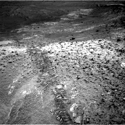 Nasa's Mars rover Curiosity acquired this image using its Right Navigation Camera on Sol 1035, at drive 1906, site number 48