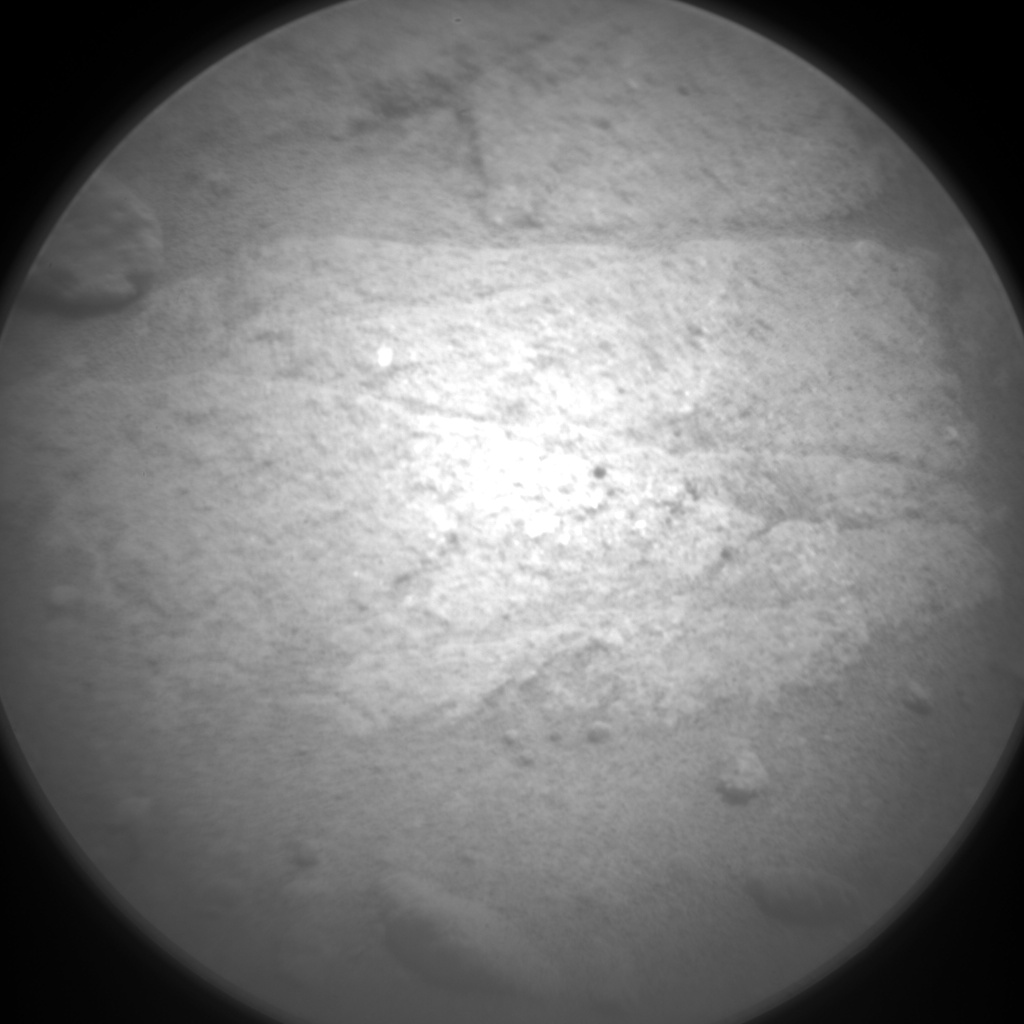 Nasa's Mars rover Curiosity acquired this image using its Chemistry & Camera (ChemCam) on Sol 1037, at drive 1906, site number 48