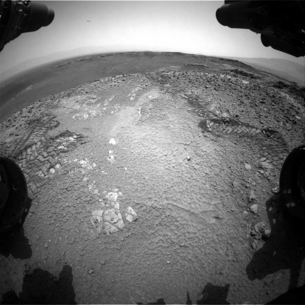 Nasa's Mars rover Curiosity acquired this image using its Front Hazard Avoidance Camera (Front Hazcam) on Sol 1037, at drive 1906, site number 48