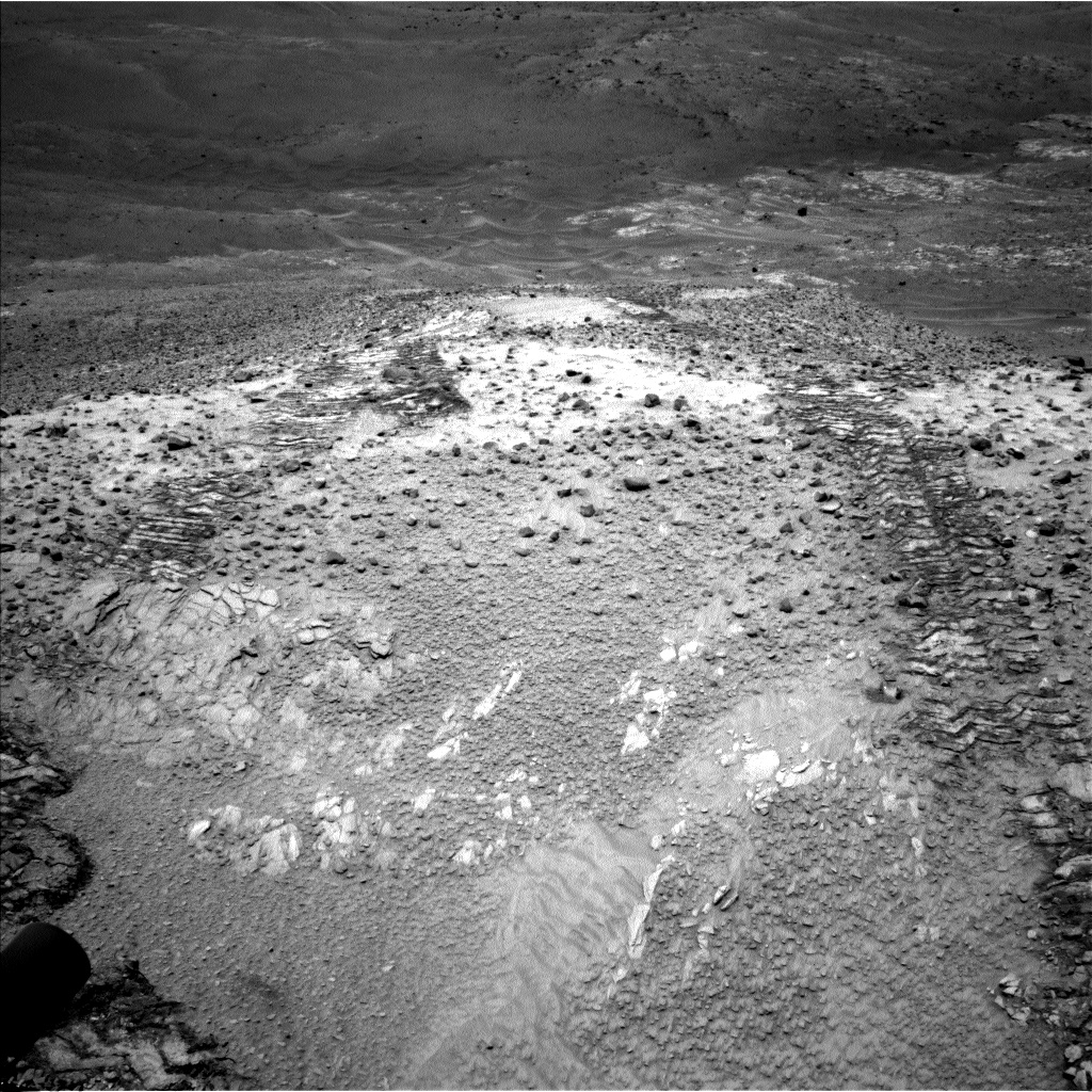 Nasa's Mars rover Curiosity acquired this image using its Left Navigation Camera on Sol 1037, at drive 1906, site number 48