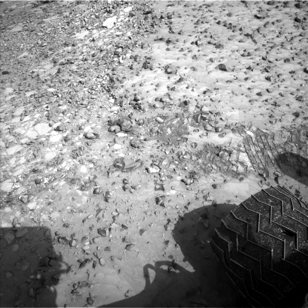 Nasa's Mars rover Curiosity acquired this image using its Left Navigation Camera on Sol 1037, at drive 1964, site number 48