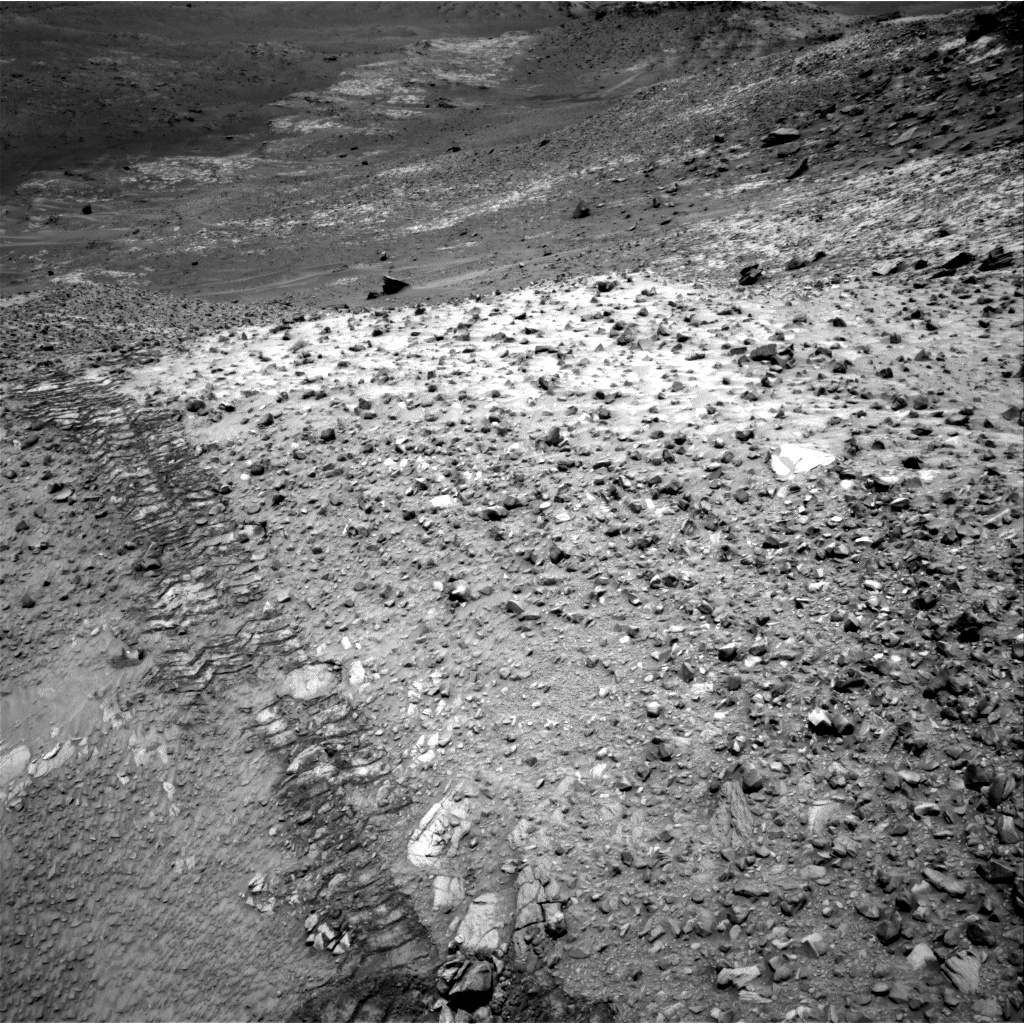 Nasa's Mars rover Curiosity acquired this image using its Right Navigation Camera on Sol 1037, at drive 1906, site number 48