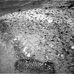 NASA's Mars rover Curiosity acquired this image using its Right Navigation Cameras (Navcams) on Sol 1037