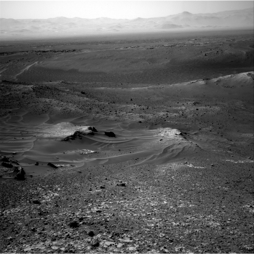 Nasa's Mars rover Curiosity acquired this image using its Right Navigation Camera on Sol 1037, at drive 1964, site number 48