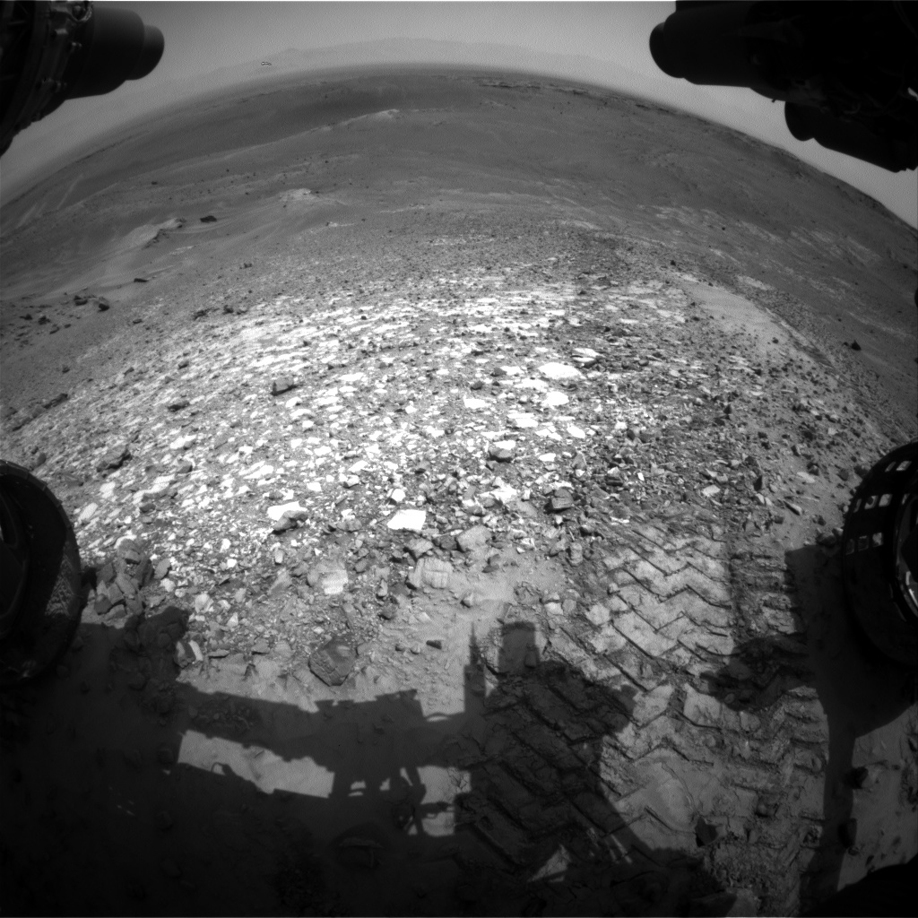 Nasa's Mars rover Curiosity acquired this image using its Front Hazard Avoidance Camera (Front Hazcam) on Sol 1039, at drive 1964, site number 48