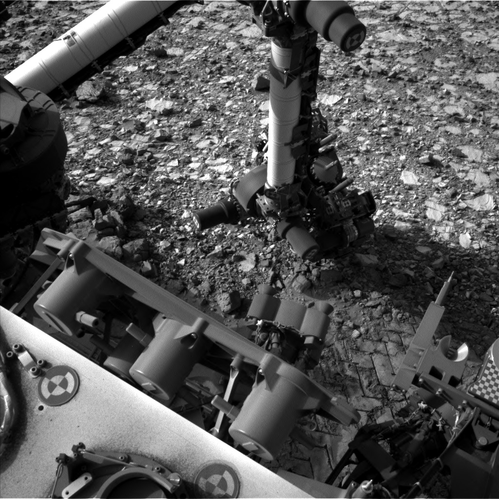 Nasa's Mars rover Curiosity acquired this image using its Left Navigation Camera on Sol 1041, at drive 1970, site number 48