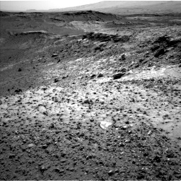 Nasa's Mars rover Curiosity acquired this image using its Left Navigation Camera on Sol 1042, at drive 1992, site number 48