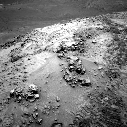 Nasa's Mars rover Curiosity acquired this image using its Left Navigation Camera on Sol 1042, at drive 2028, site number 48