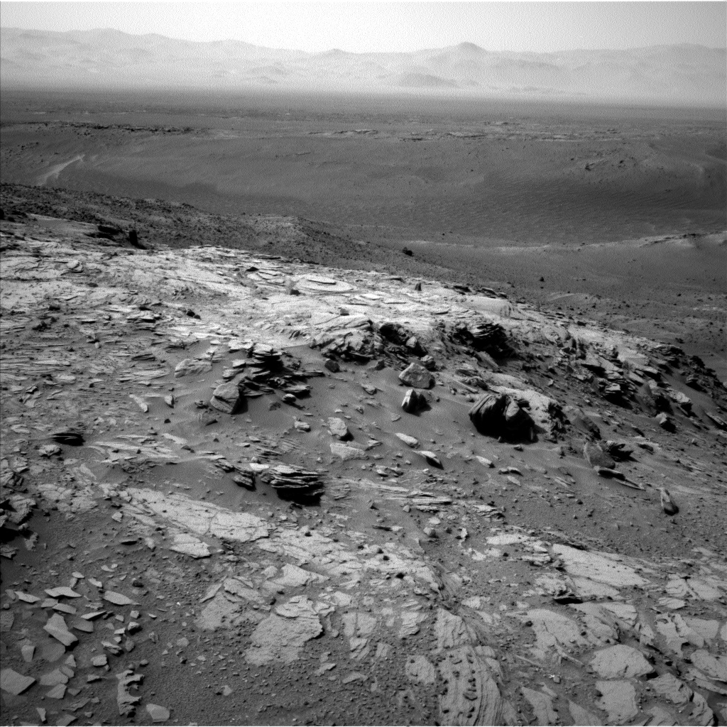 Nasa's Mars rover Curiosity acquired this image using its Left Navigation Camera on Sol 1042, at drive 2122, site number 48