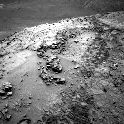 Nasa's Mars rover Curiosity acquired this image using its Right Navigation Camera on Sol 1042, at drive 2028, site number 48